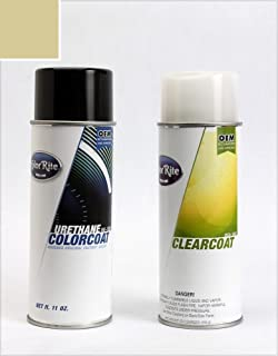 ColorRite Aerosol Automotive Touch-up Paint for Nissan Altima - Champagne Mist Metallic Clearcoat EY1 - Color+Clearcoat Package