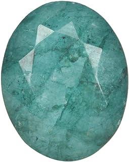 Real Gems 6.00 CT Esmeralda, Esmeralda Suelta, Esmeralda Natural, Esmeralda Verde, Esmeralda única, Piedra de Forma Ovalad...