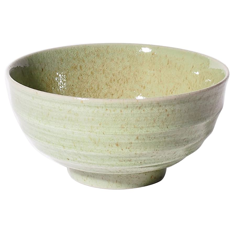 収縮従事した九みのる陶器 55多用丼 ビードロ刷毛 003-727170