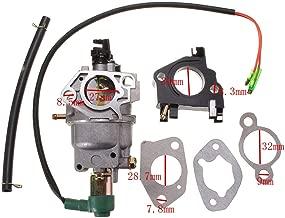 KeoKasu - Carburetor Fuel Pipe Insulator Spacer Gas Generator Carburetor Kit For Honda EB5000X EM5000S EM5000SX EM5000X EW171