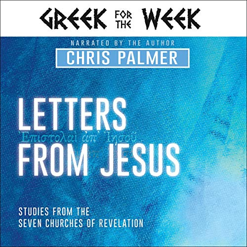 Letters from Jesus audiobook cover art