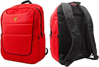 Ferrari Red Backpack Unisex