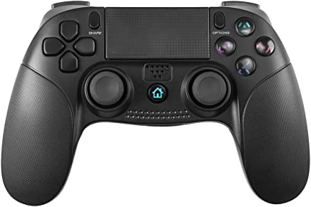 $36 Get STOGA PS 4 Controller, USB Wired PS 3 Controller Wireless PS 4 Controller with Vibration Feedback, Game Controller Compatible with PlayStation 4/ PS3