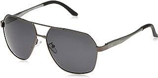نظارة شمسية رترو للرجال اسود 61