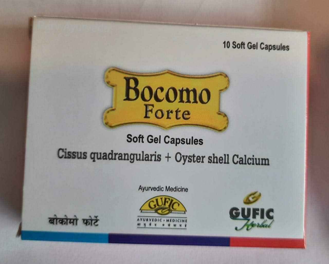 Gufic Bocomo Forte 10 Soft 4 Ranking TOP8 Indefinitely Gel pack of Cap