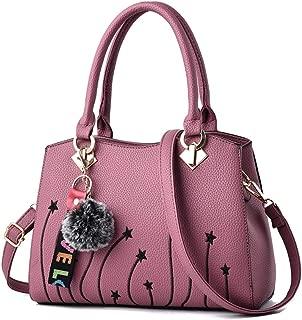 Danbaoly Women top Handle Satchel Handbags WS675