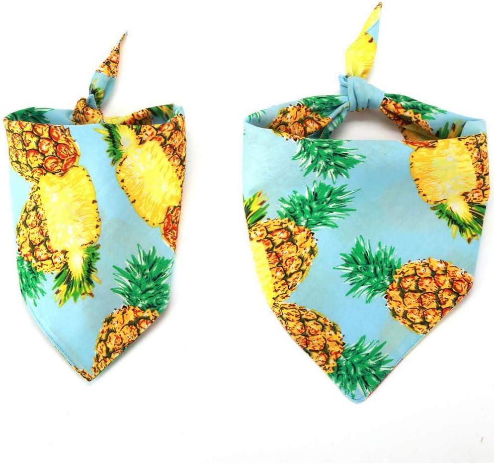 Large Pineapple Dog Bandana