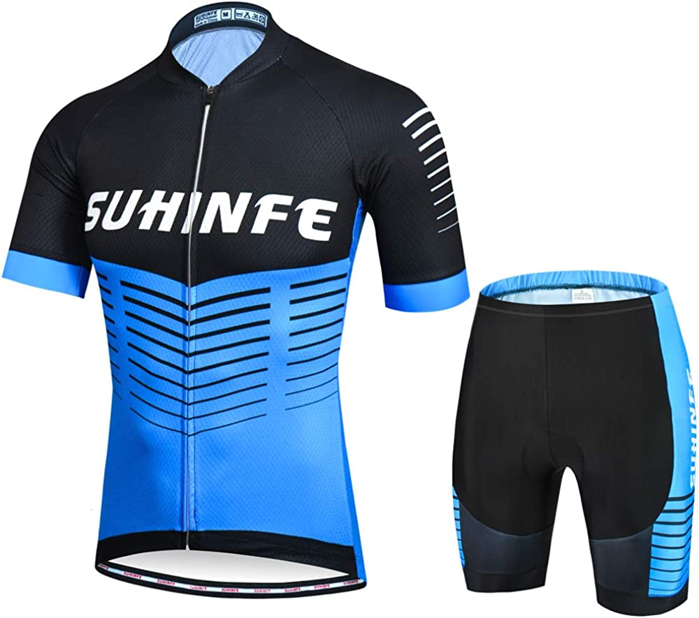 Mens Cycling Jersey Set Breathable Quick Dry Challenge the lowest Seattle Mall price of Japan Clothing w