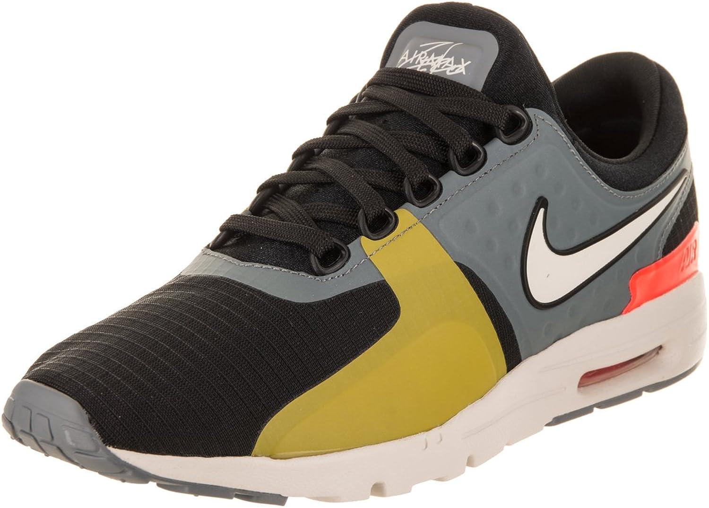Nike Woherrar W Air Max Zero Zero Zero SI, svart  ljus Bone -Cool grå -Total  exklusiv