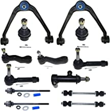 13PC Complete Control Arm Front Suspension Kit fit for w/Upper &Lower Ball Joints fit for Chevy 2002-2006 Avalanche 1500 &2000-2006 Suburban 1500/Tahoe&99-06 Silverado 1500&2007 Silverado 1500 Classic