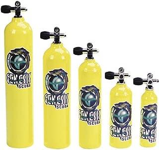 Pony Bottle Tanks, Yellow with Pro Valve