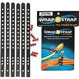 Wrap N Strap 6' - All Black pack of 6