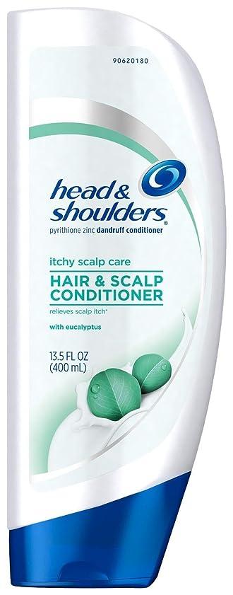 空洞コーンウォールきしむHead & Shoulders ユーカリとかゆみ頭皮ケアコンディショナー - 13.5オズ