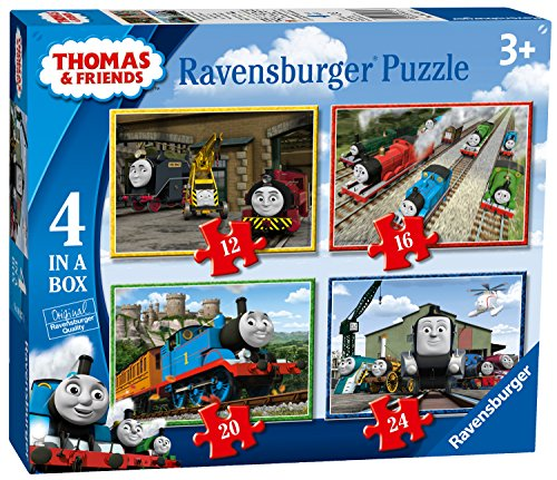 Ravensburger 6937 Thomas and Friends 4-in-1-Puzzle, 0