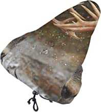 MSACRH Waterproof Bicycle Seat Cover Winter Deers Adults Teens Protective Water Resistant Bicycle Saddle Rain Sun Cover fo...