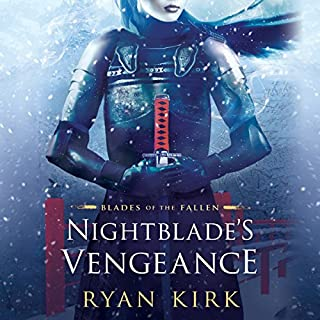 Nightblade's Vengeance audiobook cover art