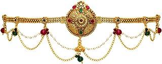 Jaipur Mart Maroon Green Alloy Kamarband for Women
