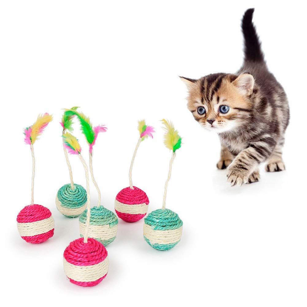 AOOCEEH Arbol Gato Rascador Gatos Protector Sofa Gatos ArañAzo Rascador para Gatos Sofa Arbol para Gatos Rascadores De Gatos Rascador Gato Rascador para Gatos Grandes ra ndom Color: Amazon.es: Hogar