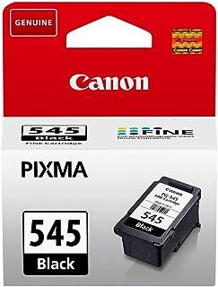 Canon PG-545 Cartucho de tinta original Negro para Impresora de Inyeccion de tinta Pixma TS3150-TS3151-MX495-MG2450-MG2550...