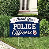 Big Dot of Happiness Thank You Police Officers -...