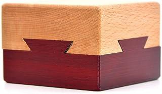 Medifer Casella di Puzzle di Apertura segreta di Legno scatola di Regalo misteriosa per Bambini e adulti