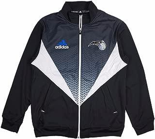 adidas Orlando Magic NBA Men's Black Resonate Full Zip Light Weight Team Jacket