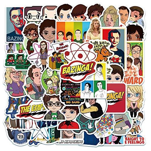 VCHSH 50 Alumnos viviendo Gran explosión de Dibujos Animados de Dibujos Animados Pegatinas Teléfono móvil Caja Cuaderno Decoración Pegatinas Guitarra Pegatinas de Coche Impermeable