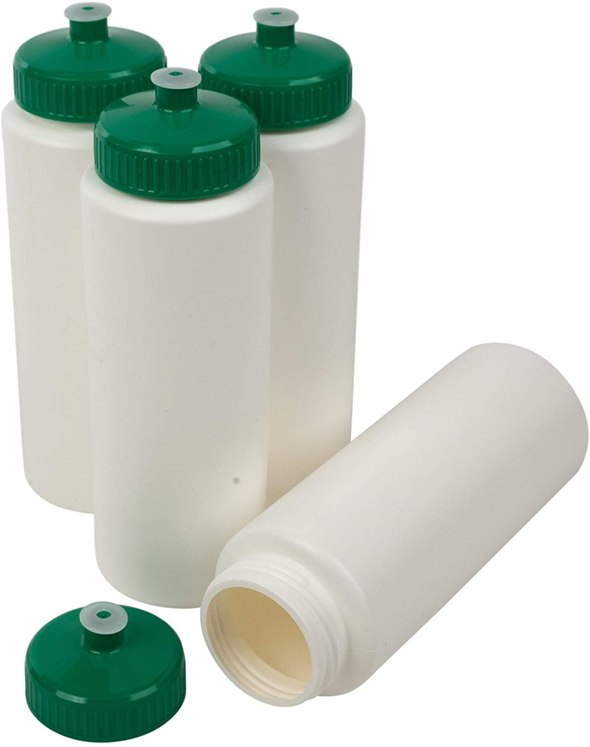 CSBD 32oz Sports Water Bottles Reusable To No Complete Free Large discharge sale Shipping Plastic Pull BPA