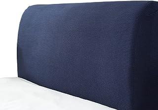 MHCYKJ Cubierta para Cabecero De Cama Protector Funda Cabecera Protectora Elástica Matrimoniofun Da Lavable Decoración Dormitorio (Color : Blue, Size : 180cm/71in)