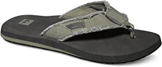 Quiksilver Mens Monkey Abyss Green Black Brown Shoes Size 8