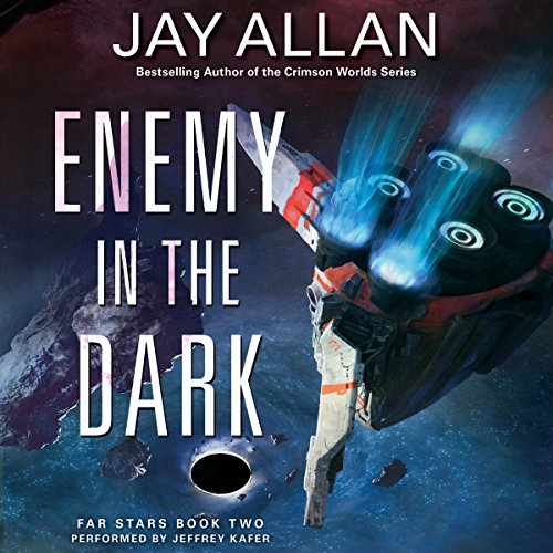 Enemy in the Dark audiobook cover art