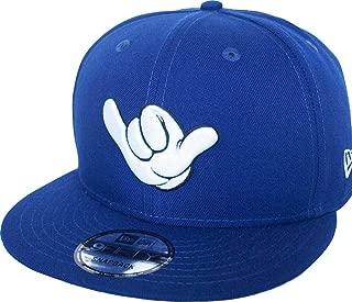 New Era Mickey Mouse Shaka Hand Royal Snapback Cap 9fifty 950 Disney Basecap Limited Edition