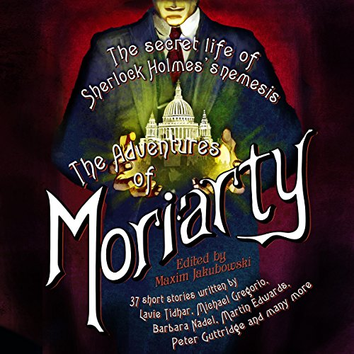 The Mammoth Book of the Adventures of Moriarty audiobook cover art