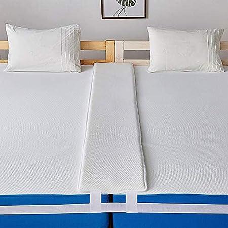 【2点セット 2つの固定】LiFeEasy ベッド すきまパッド マットレスベルト 隙間 埋める 隙間埋め すきま防止 ズレ防止 ずれ防止 固定ベッド 隙間パッド すきま用パッド マットレス用隙間パッド すきまスペーサー ベッド連結 でガッチリ固定 マットレス固定バンド 日本語取付説明書付き (2mすきまパッド + 10mマットレスベルト)