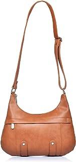 Fostelo Women's Morela Sling Bag (Tan) (FSB-914)