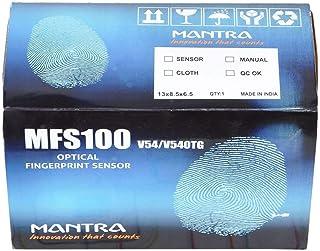 Yukonics USB and OTG Mantra MFS 100 Fingerprint Scanner