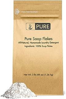 organic soap flakes