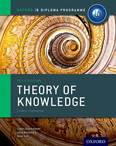 Ib Theory Of Knowledge Course Book Oxford Ib Diploma Program Course Book