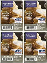 Better Homes and Gardens Vanilla Cookie Crunch Wax Cubes - 4-Pack