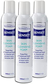 Senset Cleansing Foam - Triple Pack Healthcare