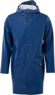 RAINS Men's Long Jacket Raincoat