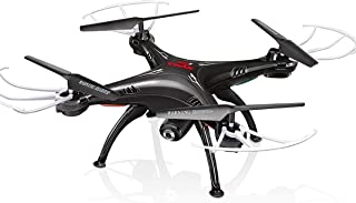 SR ENTERPRISES Syma X5SW WiFi HD Camera Drone, 2.4GHz RC Headless Quadcopter (Black)