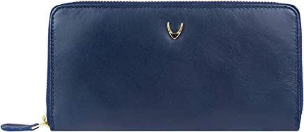 Hidesign Blue Leather For Women - Zip Around Wallets