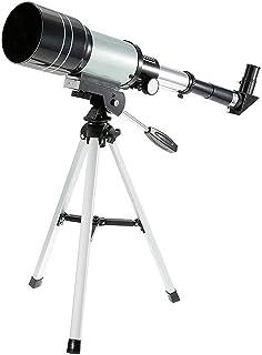 Space Astronomic Telescope,Outdoor Monocular 150X Refractive Telescope for Kids Educational Science Travel Spotting Scope ...