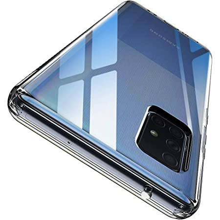 ANNSD Samsung A71 5G Case, Scratch Resistant & Anti Slip Crystal Clear Soft TPU Slim Fit Case for Samsung Galaxy A71 5G/A71 5G SM-A716 Phone(NOT Fit with A71 4G SM-A715F/DS)(Clear)