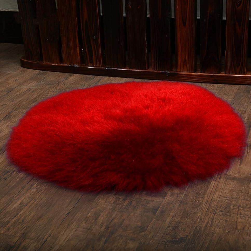 ラグ ムートンラグ リアルファー ムートン 天然羊毛 ウール ムートン ラグ 洗える ふわふわ カーペット ウール マット