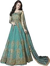 Riva Fashion Embroidered Net and Abaya Style Lehenga Suit,Salwar Kameez Suit for Women