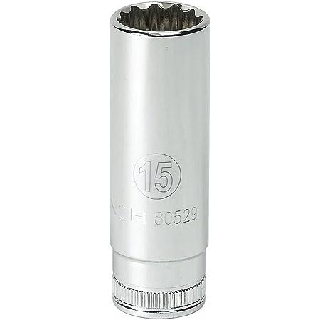 GEARWRENCH 3//8 Drive Deep Impact Metric Socket 22mm 84344N 6 Point