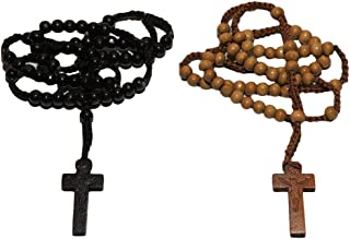 Best rosary necklace wooden Reviews