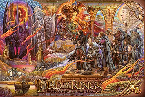 72Tdfc DIY Diamond Painting Book Diamond Painting Book Notepad Sketchbook Painting Kit -Lord of The Rings - 5D DIY with Round Full Drill Accessories Home Wall Decorations